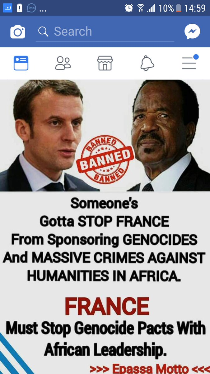 #France ALWAYS on the wrong side of African history due to resources. @EmmanuelMacron @realDonaldTrump @UN @CIJ_ICJ