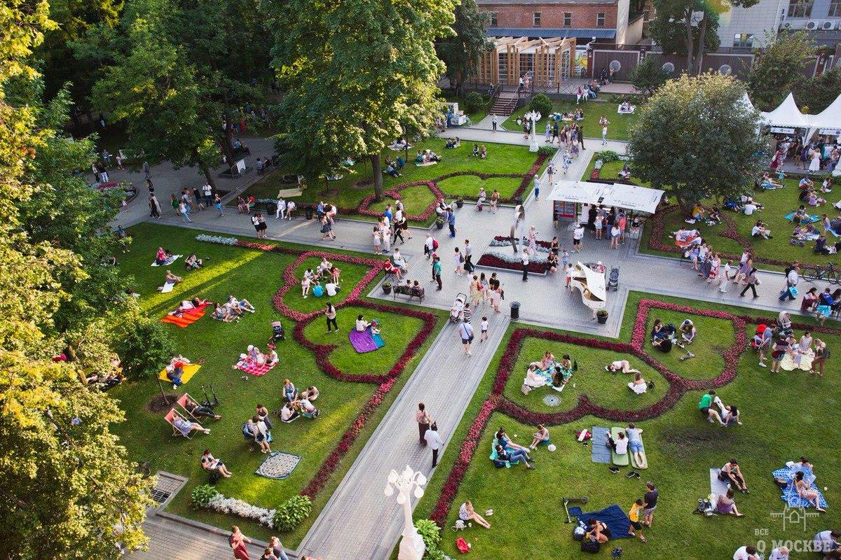 Москва сад эрмитаж картинки