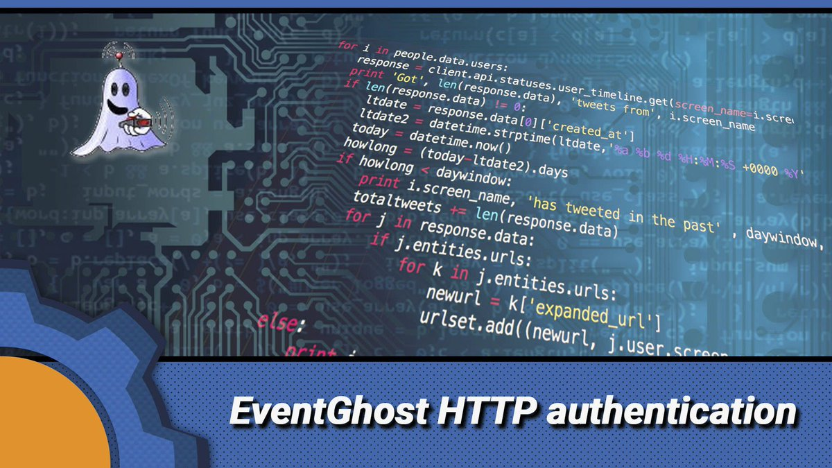 eventghost hashtag on Twitter