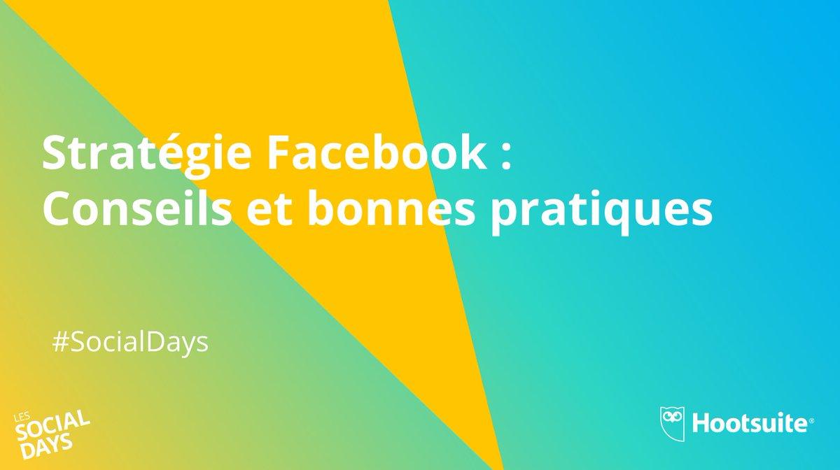 Tout le monde connait #Facebook, mais connaissez vous comment lutiliser pour générer des leads? @isabellemathieu et @YannDirheimer vous dévoile lors du webinar #SocialDays les stratégies les plus efficaces! Regardez le replay ici ow.ly/sq7i30lfMbW
