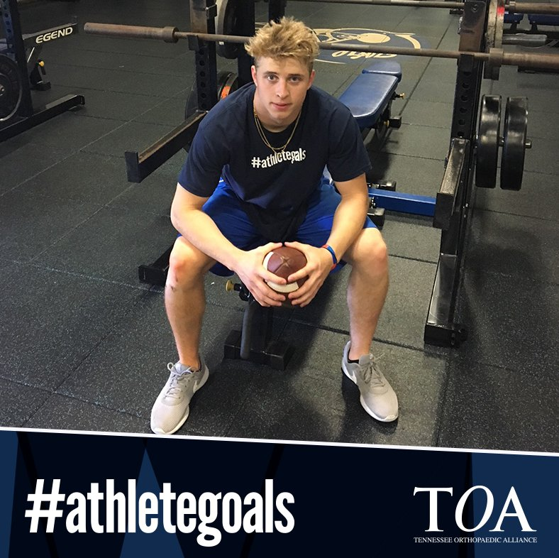 Cameron Casanova is a former TOA patient &amp; senior @WhiteHouseHigh. We&#39;re thrilled that he&#39;s back on the field this season &amp; ready for the first game of the season tonight! Go Blue Devils!!  http:// bit.ly/2KyZ3Kl  &nbsp;   #athletegoals @bluedevilway @whitehousebdp<br>http://pic.twitter.com/miBQUjGWvG