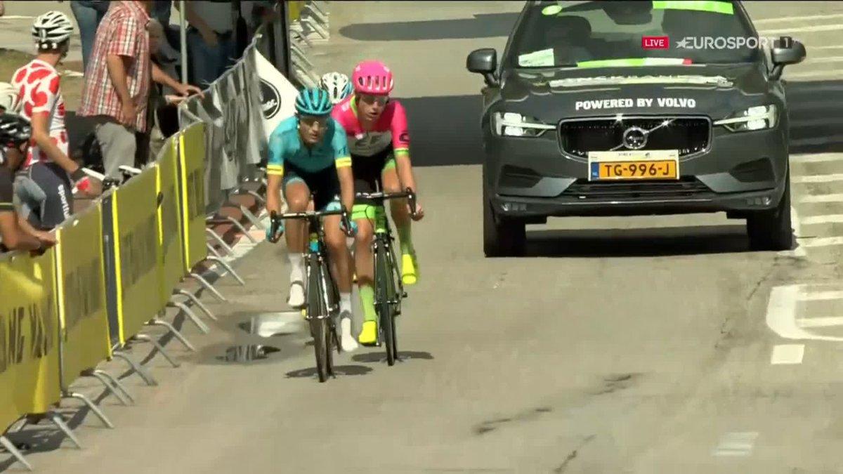 BinckBank Tour 2018: Magnus Cort Nielsen wint etappe 5