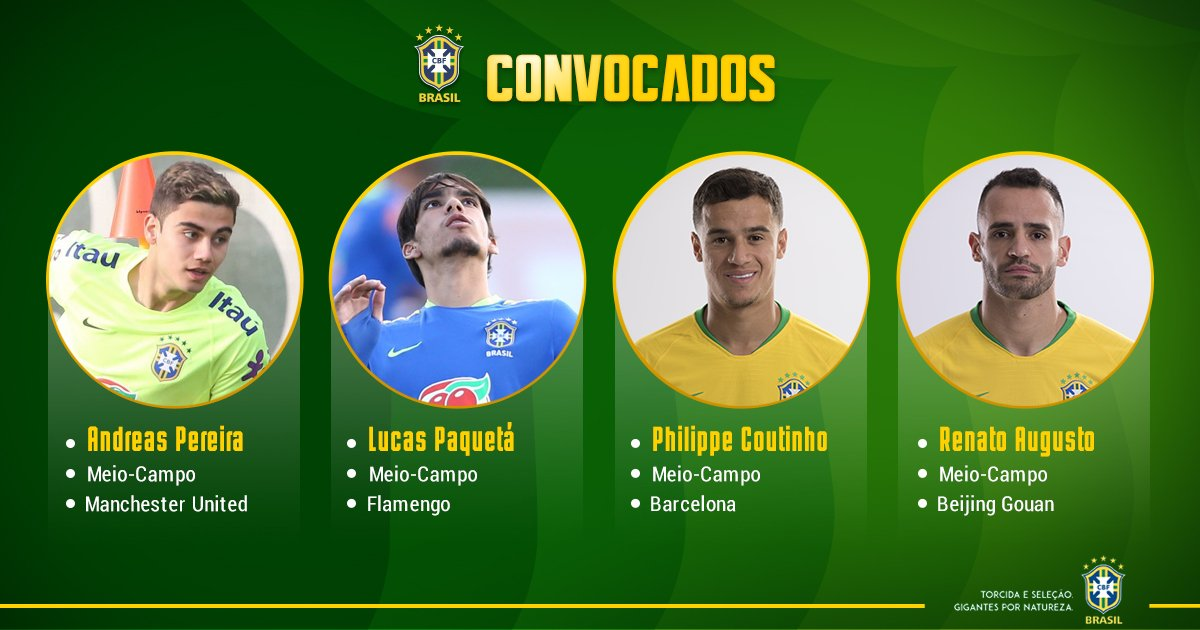 CBF Futebol's photo on Renato Augusto