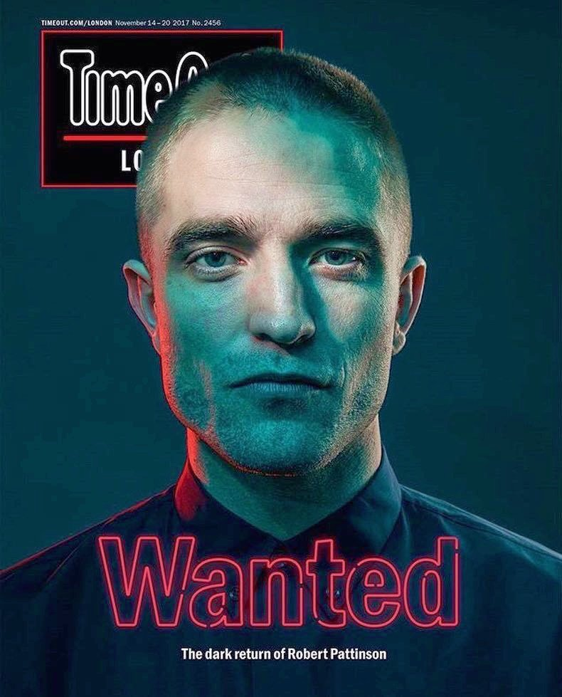 &quot;The dark return of Robert Pattinson&quot;  —Andy Parsons for Time Out London <br>http://pic.twitter.com/oumZxbeJXg