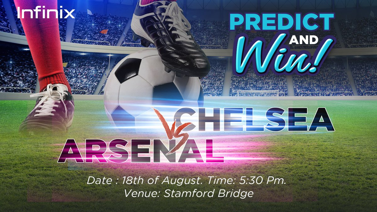 Predict the accurate scoreline between these two London clubs to stand a chance of winning our branded gift items. To participate:   -RT this post -Reply with your prediction  The first two correct predictors win! <br>http://pic.twitter.com/93LiP76i8I