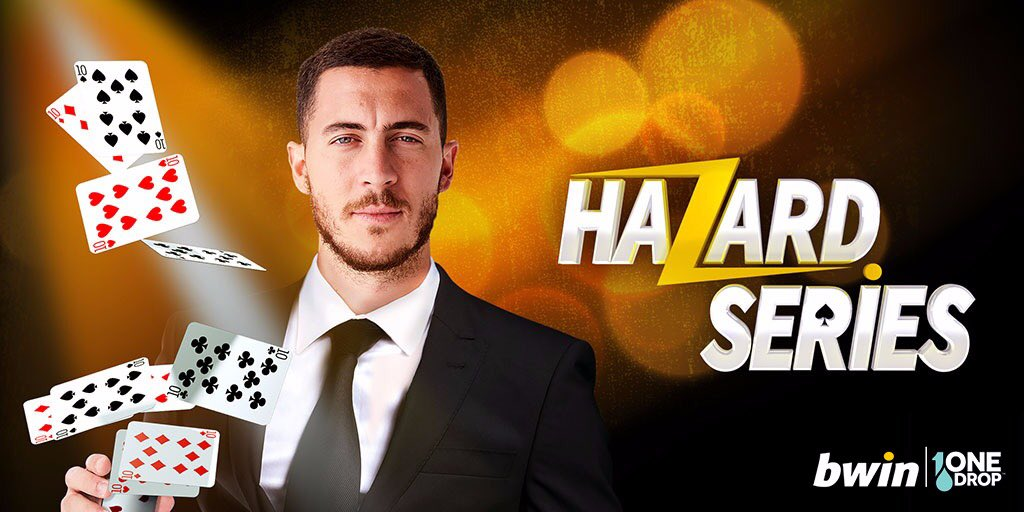 Hello my friends, excited to launch the Hazard Series Charity Poker Tournament! With my help, Bwin are supporting @1dropwater by donating €1 for each sign up. Help me change the game! More to come… . https://m.bwin.com/en/mobileportal/promotions/poker/1561 … . #bwin #poker #changethegame #hazardseries #onedrop