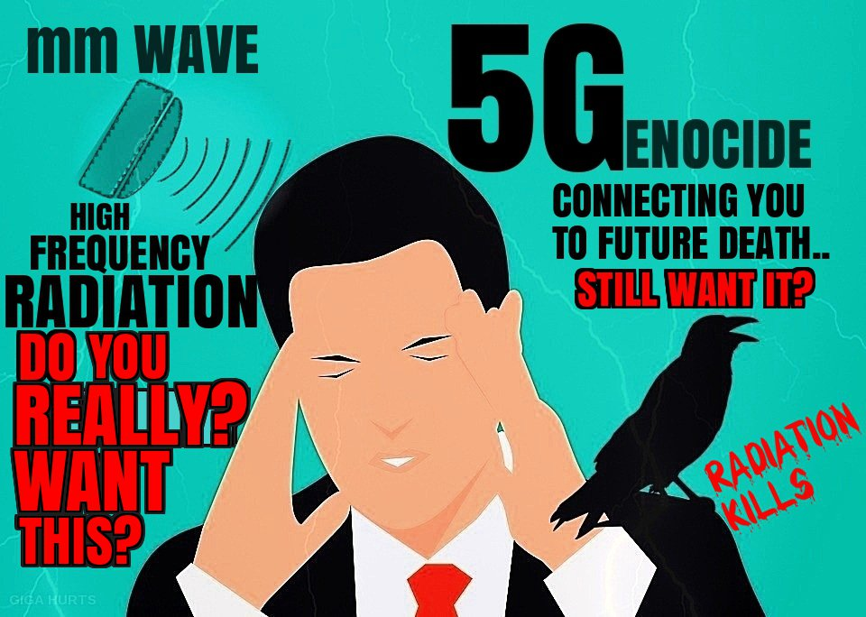You May Think You Want Or Even Need &quot;Must-Have&quot;#5G..  But Do You Really? You can&#39;t truly want something if you don&#39;t truly know what it is.. And you certainly can&#39;t need it if it&#39;s bad for your life.. as #health damage and #Genocide via Frequency Radiation tends to be..#IoT #AI<br>http://pic.twitter.com/Cq1A0j9lno