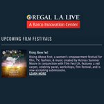 Image for the Tweet beginning: 👀 our festivals featured @RegalLALIVE