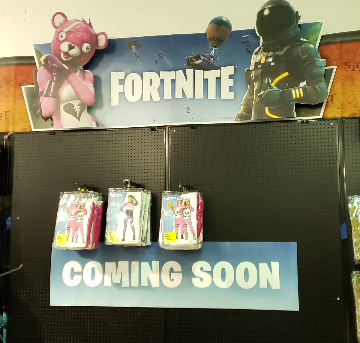 master0fhyrule road to super smash bros ultimate on twitter fortnite costumes coming soon to my local halloween store spirit halloween