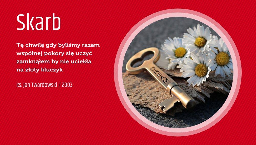 Twardowskipoezjaeu On Twitter Skarb Wiersz Poezja