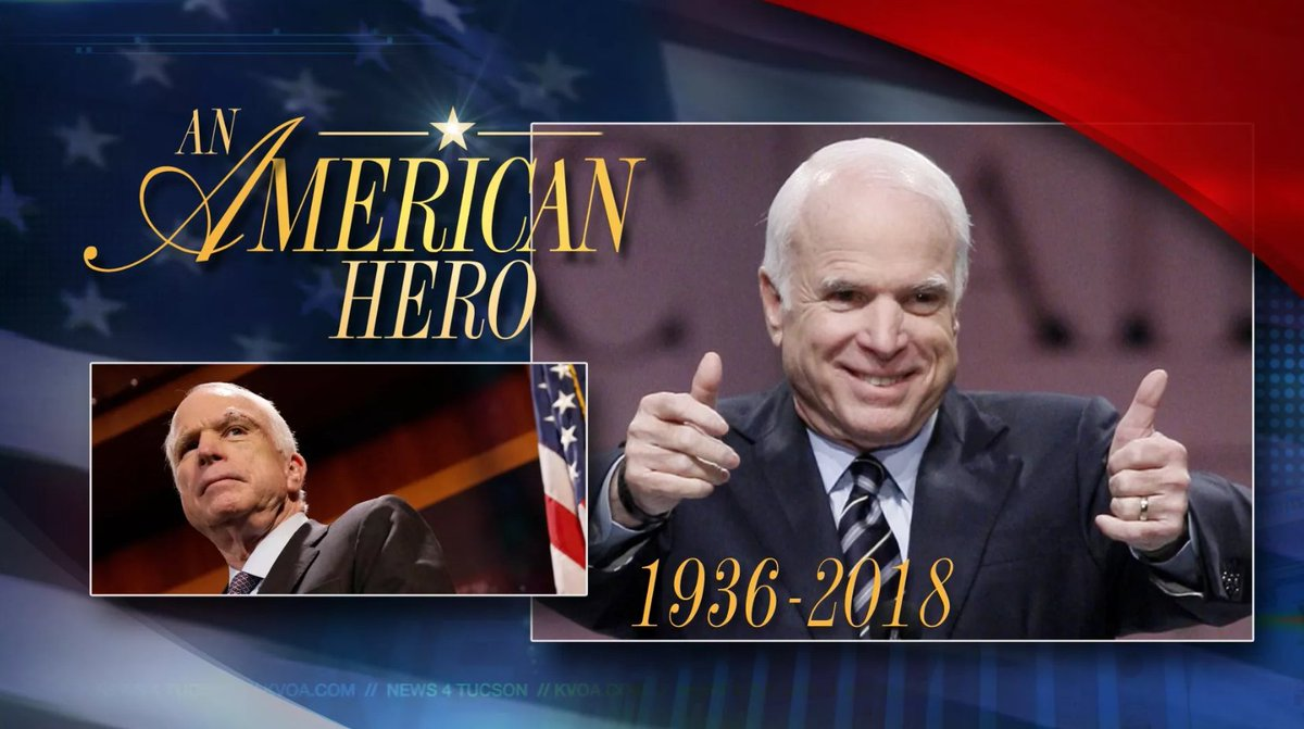 News 4 Tucson >> Kvoa News 4 Tucson On Twitter How To Watch John Mccain S Funeral
