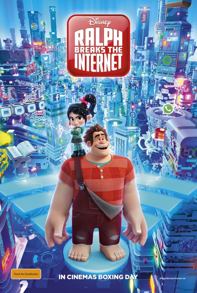 Ralph Breaks the Internet 2018 HDCAM 720p 900MB Hindi Dubbed MKV