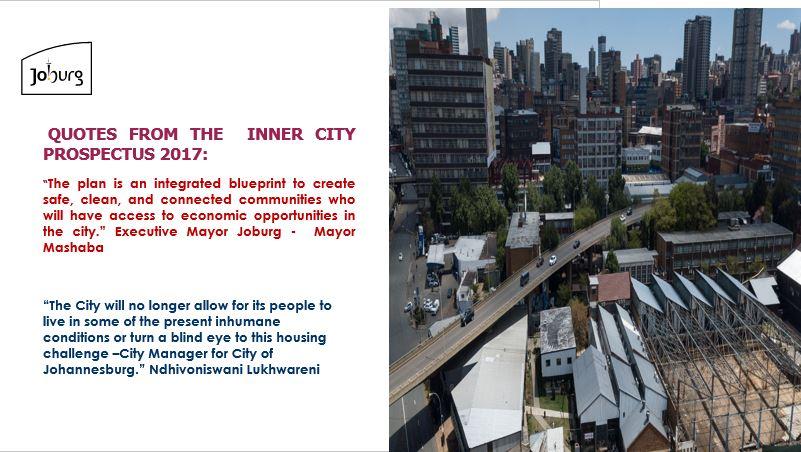 City Of Joburg On Twitter Buildingnewjozi The 71 Inner City