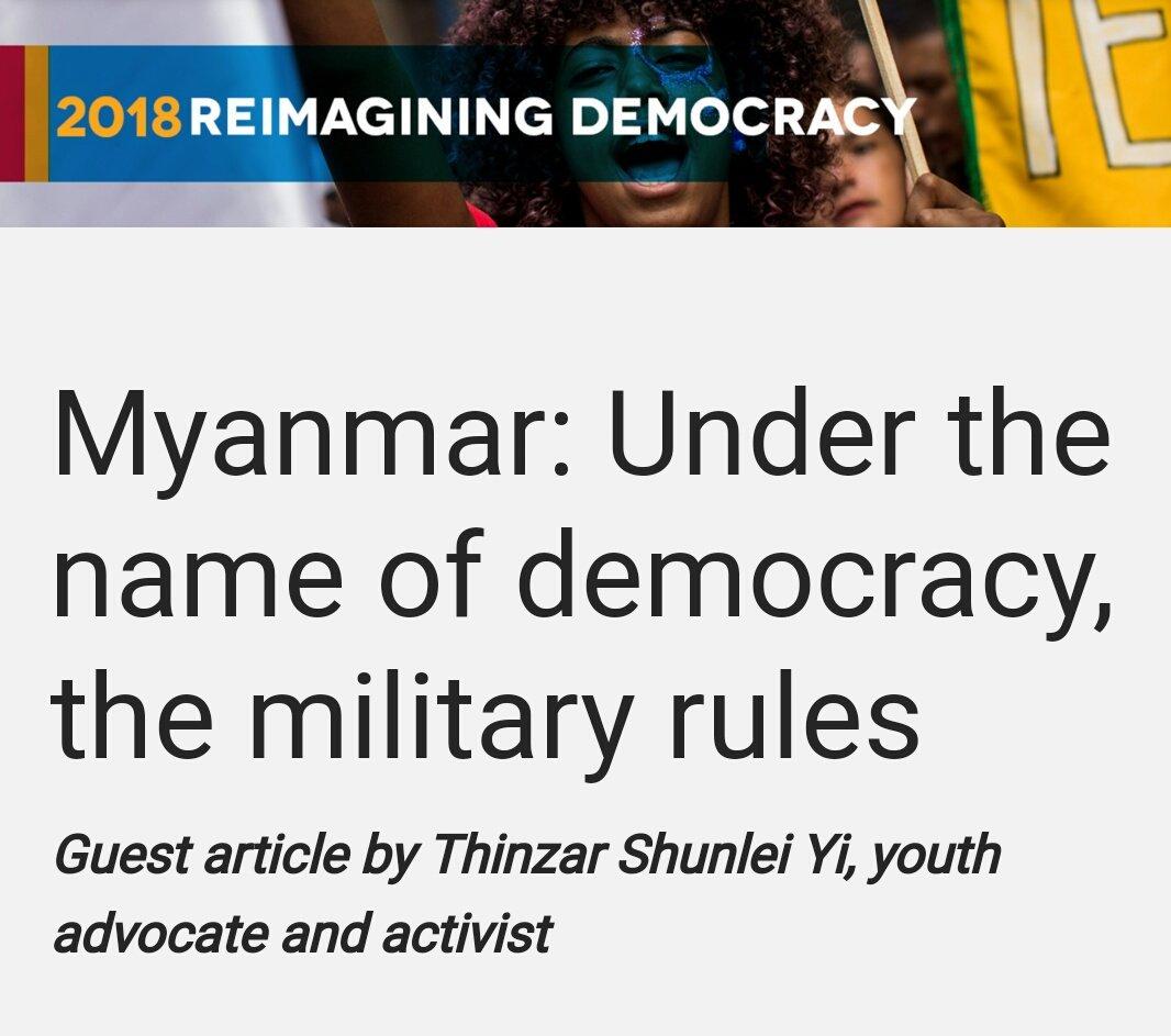 Thinzar Shunlei Yi (@thinzashunleiyi) | Twitter