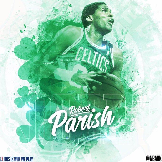 Happy birthday to legend Robert Parish