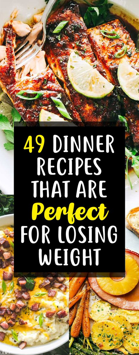 49 Weight Loss Recipes That Make The Perfect Fat Burning Dinner! #healthyeating https://t.co/0Kgvq6SPBE https://t.co/juPc3mCw90