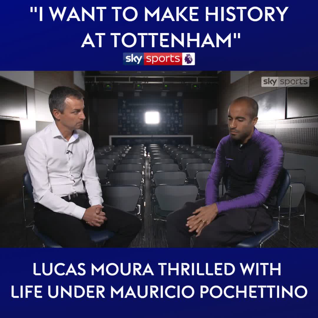 "Sky Sports Premier League On Twitter: ""Lucas Moura Talks"