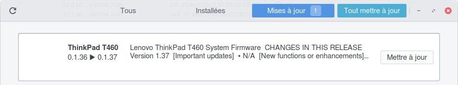 Fwupd Lenovo