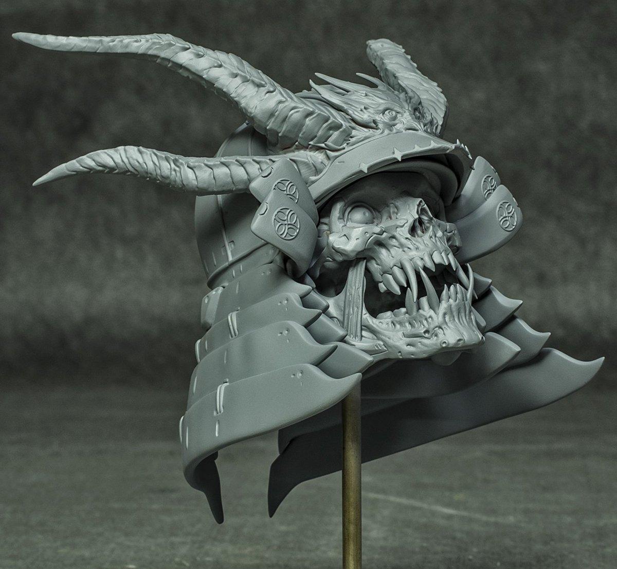 "Furio Tedeschi  :  ar Twitter: ""Samurai Skulls Kits ready to order"