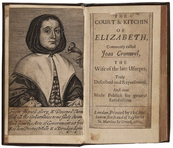Society AGM and Lecture (ZOOM) - 'Mrs Cromwell's Cookbook: Food, Dining and Politics in the 17th Century' @ ZOOM Meeting