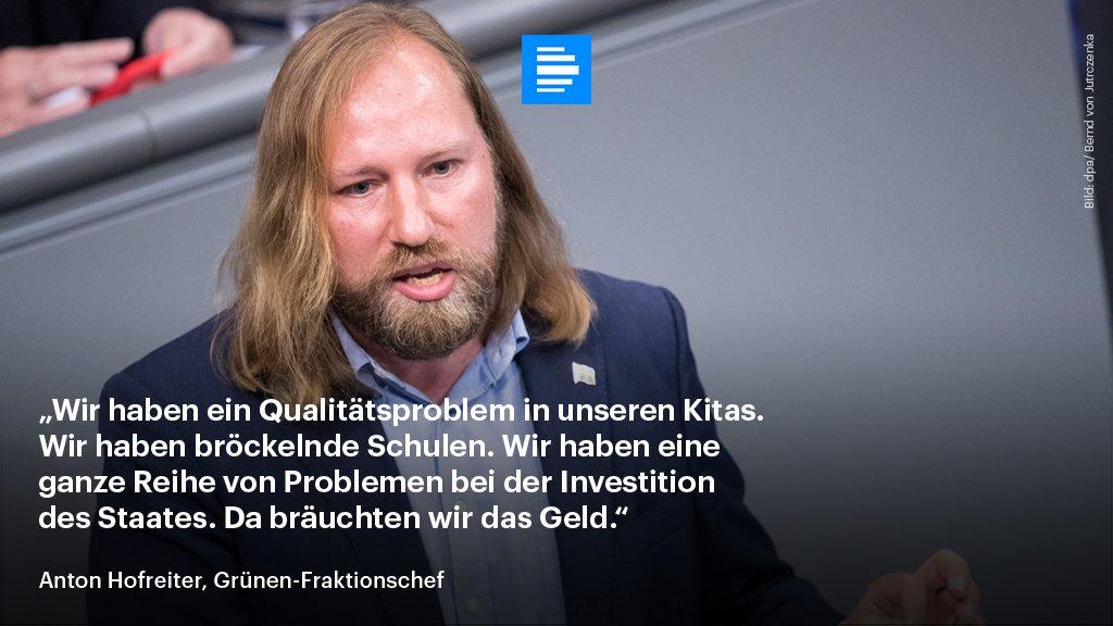 Deutschlandfunk On Twitter Grunen Fraktionschef Anton Hofreiter