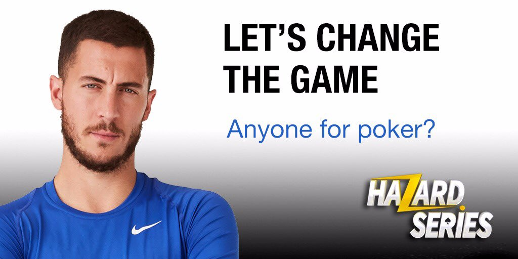 My friends, here is a chance to play poker in person with me in the @bwin Hazard Series. It's free to enter and we're aiming to raise at least €50,000 for the @onedrop charity. Let's change the game together! https://m.bwin.com/en/mobileportal/promotions/poker/1561 …