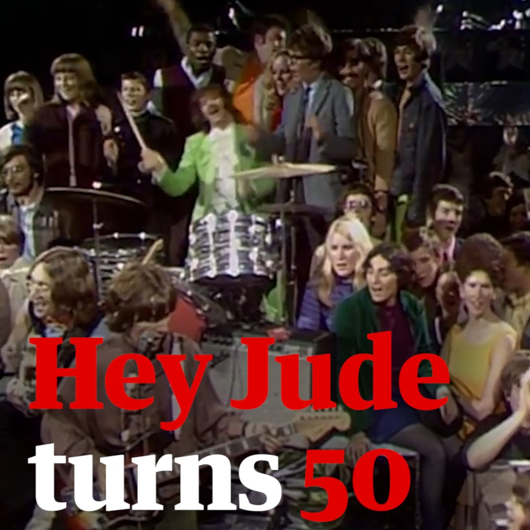 Hey Jude at 50: four things you may not know about the Beatles hit #HeyJude #Beatles https://t.co/FhIy6NfoLh