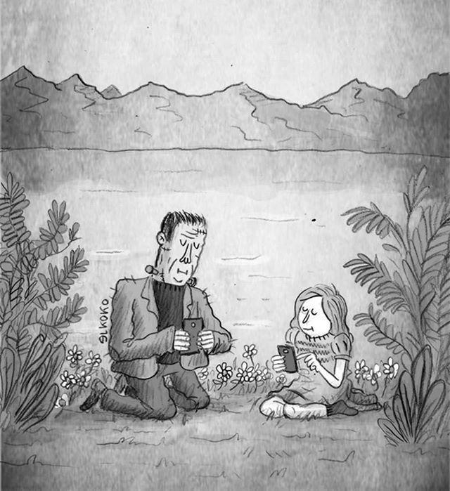 Si Mary Shelley levantara la cabeza... #FelizJueves