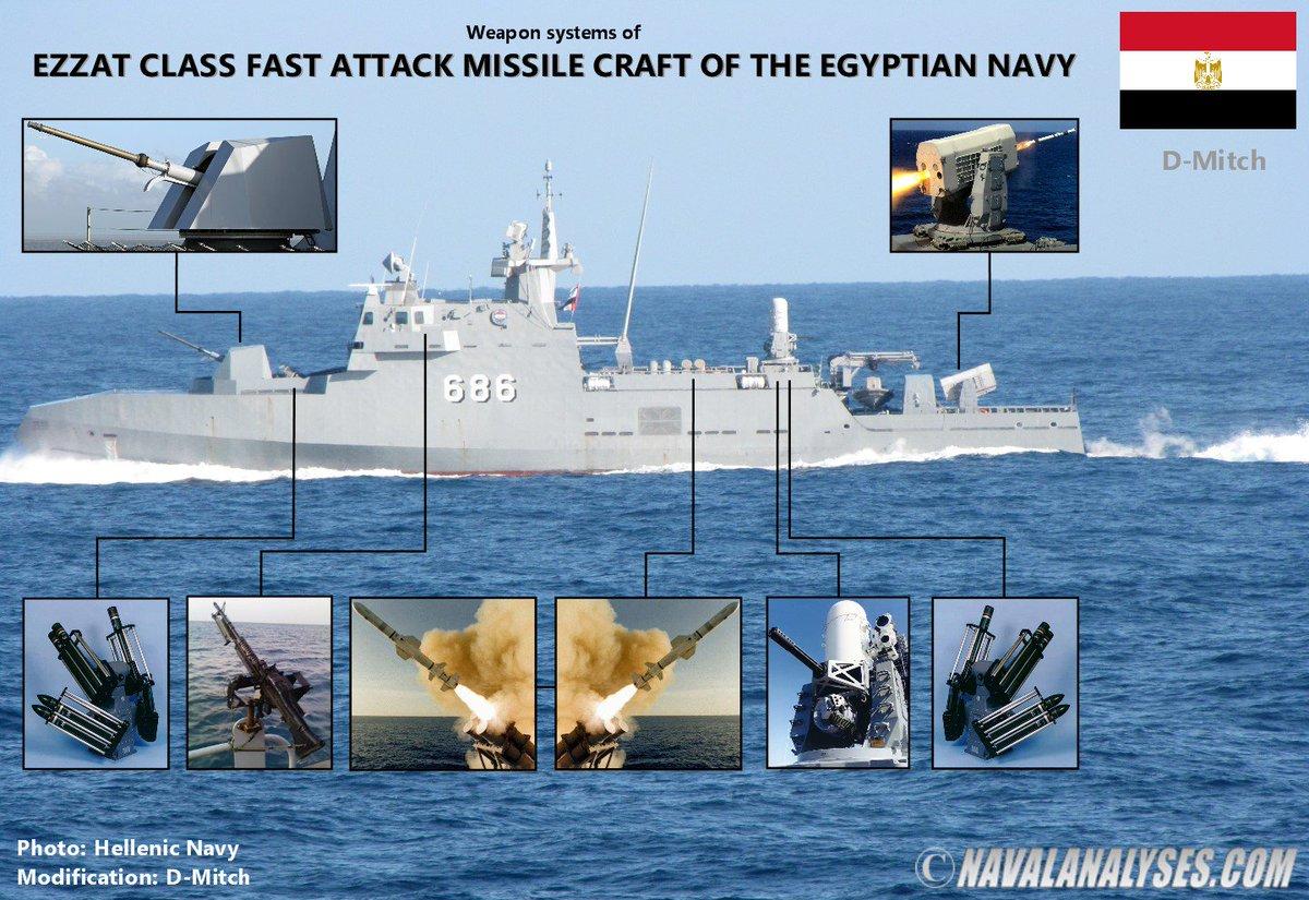 ما هي قدرات زورق الصواريخ الهجومي الشبح المصري Ambassador MK-III صاحب اسم سليمان عزت الوحيد في العالم المشارك في باب المندب ؟ Dl1xAylW4AAGW8i