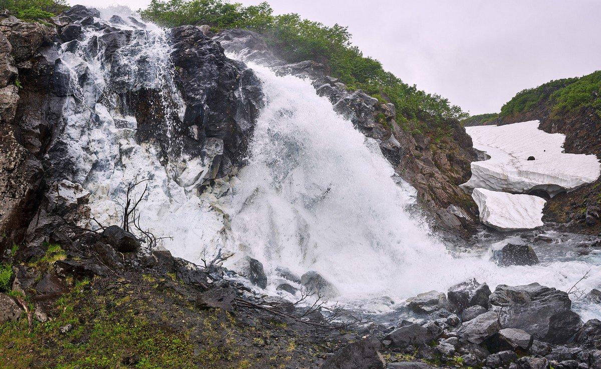 Водопады камчатки фото с описанием