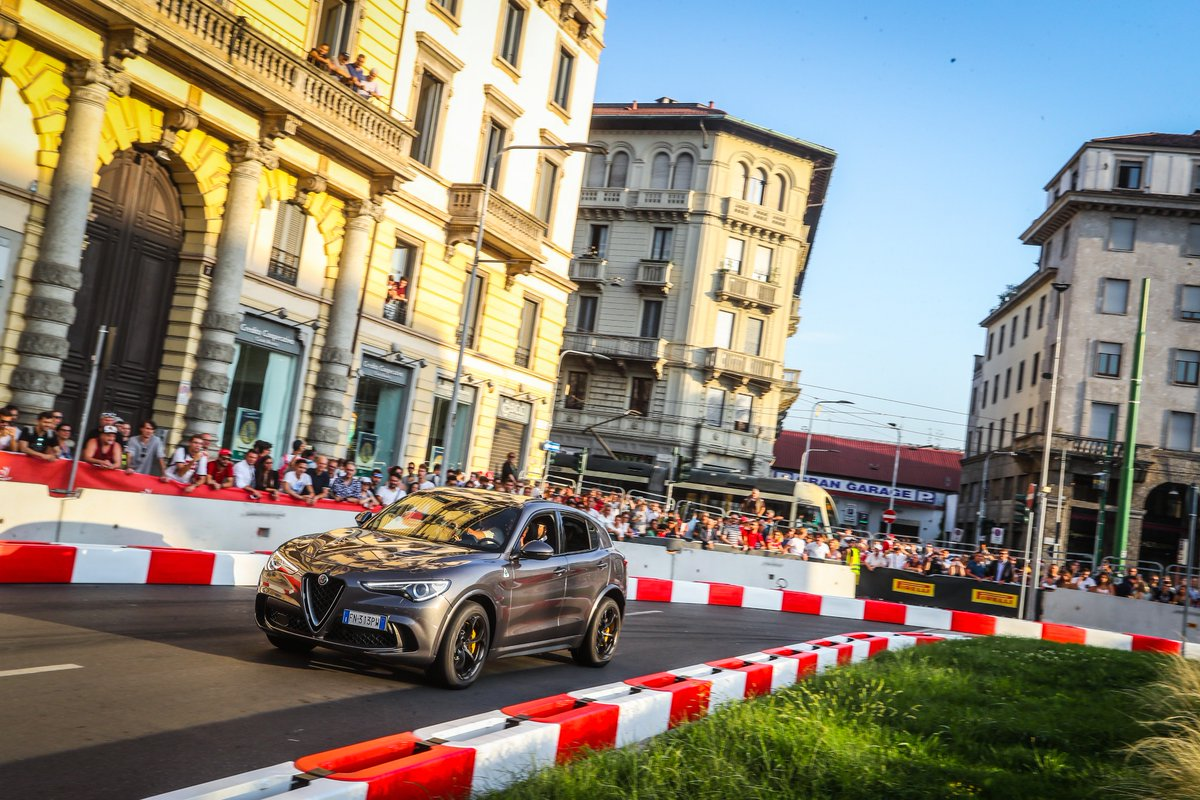 Feeling the F1 Passion of Milan.  Thanks to all the fans for supporting us at @F1 Festival.