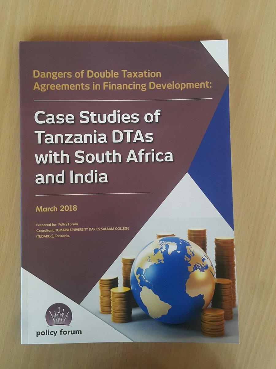 Double taxation agreement in tanzania