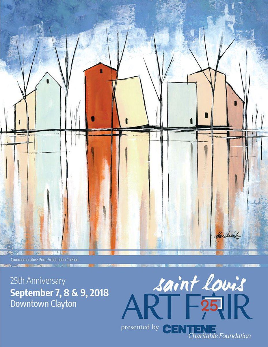 Culture and fun for all at The Saint Louis Art Fair, #Clayton, Missouri, September 7-9, 2018   http://all-about-clayton.com/st-louis-art-fair-clayton.htm… @STLArtFair @Centene @Enterprise #STL #StLouis