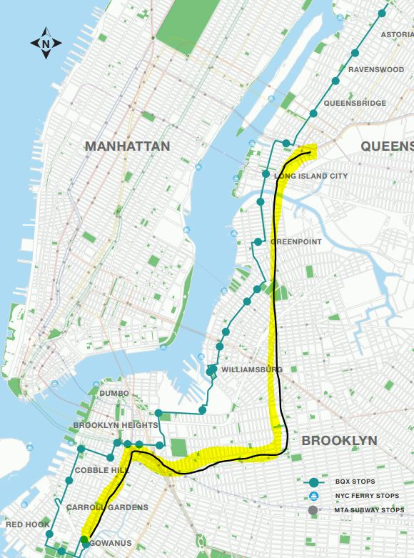 G Train Subway Map.Second Ave Sagas On Twitter Here S A Route Map The Highlighted