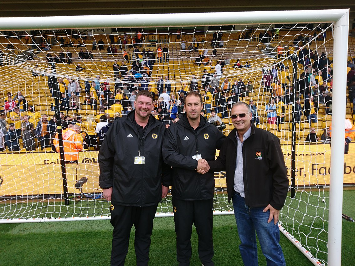 "test Twitter Media - Molineux Goalposts ""Cherry on the Cake"" for Wolves' Premiership Return @markharrodltd https://t.co/StsWN9FVOr #sapcanews https://t.co/7kbNSDGXba"