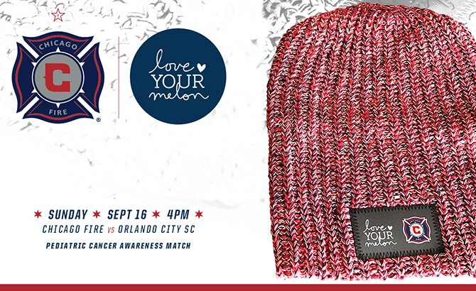 dc3ded686691c We re proud to partner with  LoveYourMelon for our  KickChildhoodCancer  match on Sunday
