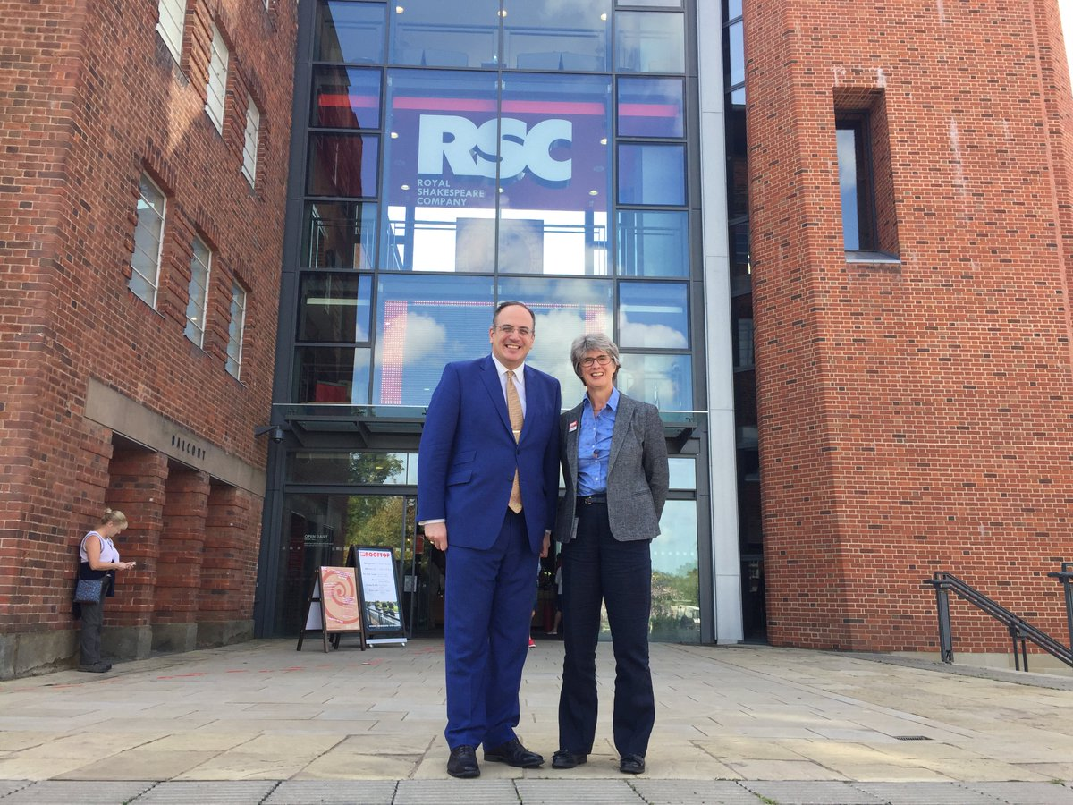 The Rsc On Twitter Delighted To Welcome Michaelellis1 From Dcms