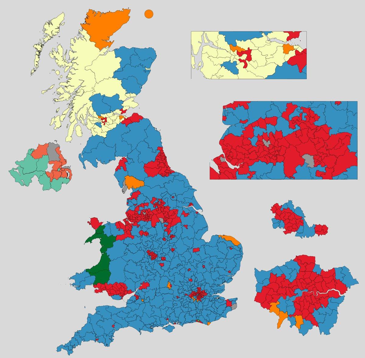 Election Maps UK on Twitter: \