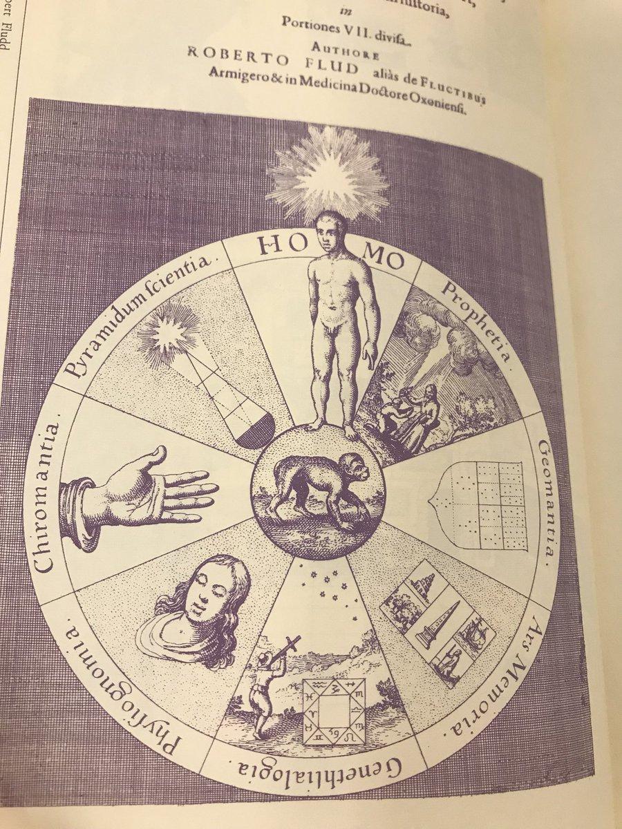 """鏡リュウジ en Twitter: """"17世紀、ロバート フラッドの著書より。猿は ..."""