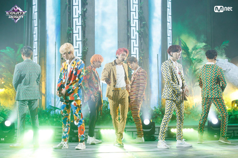 "Imagini pentru BTS: ""Idol"" on M! Countdown"