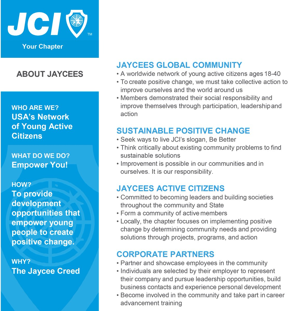 jci usa on twitter create local or state marketing flyers for your