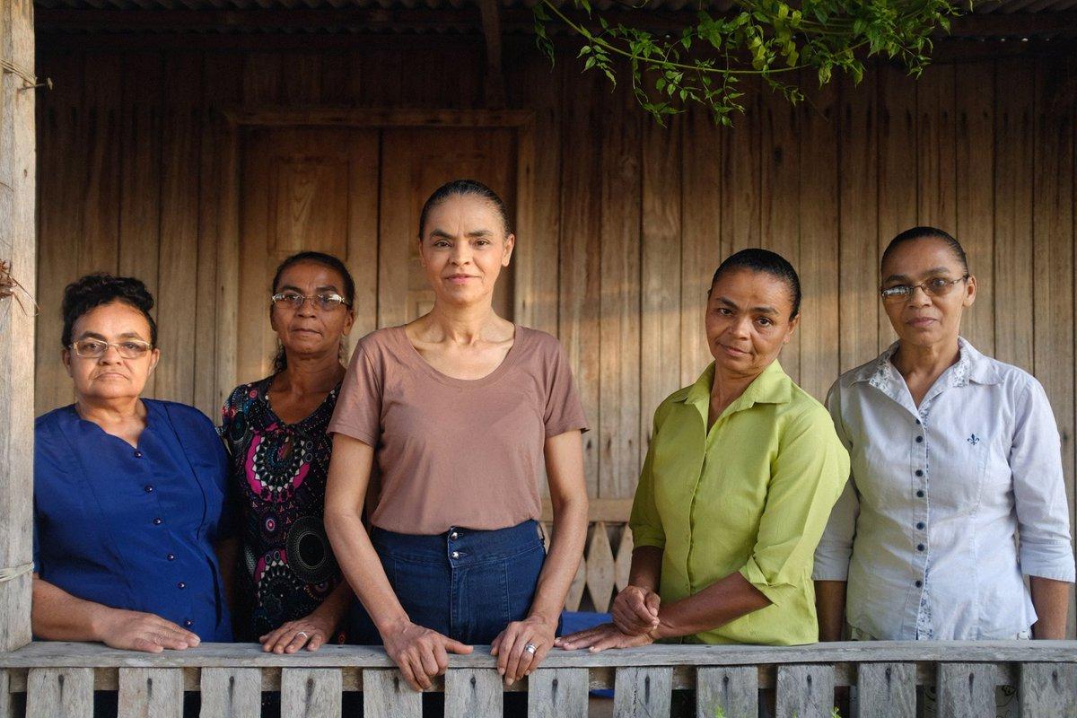 Resultado de imagem para Marina silva e suas irmãs