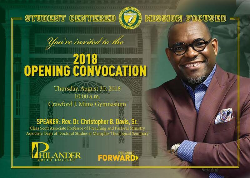 It's Opening Convocation! Please join us at 10am!