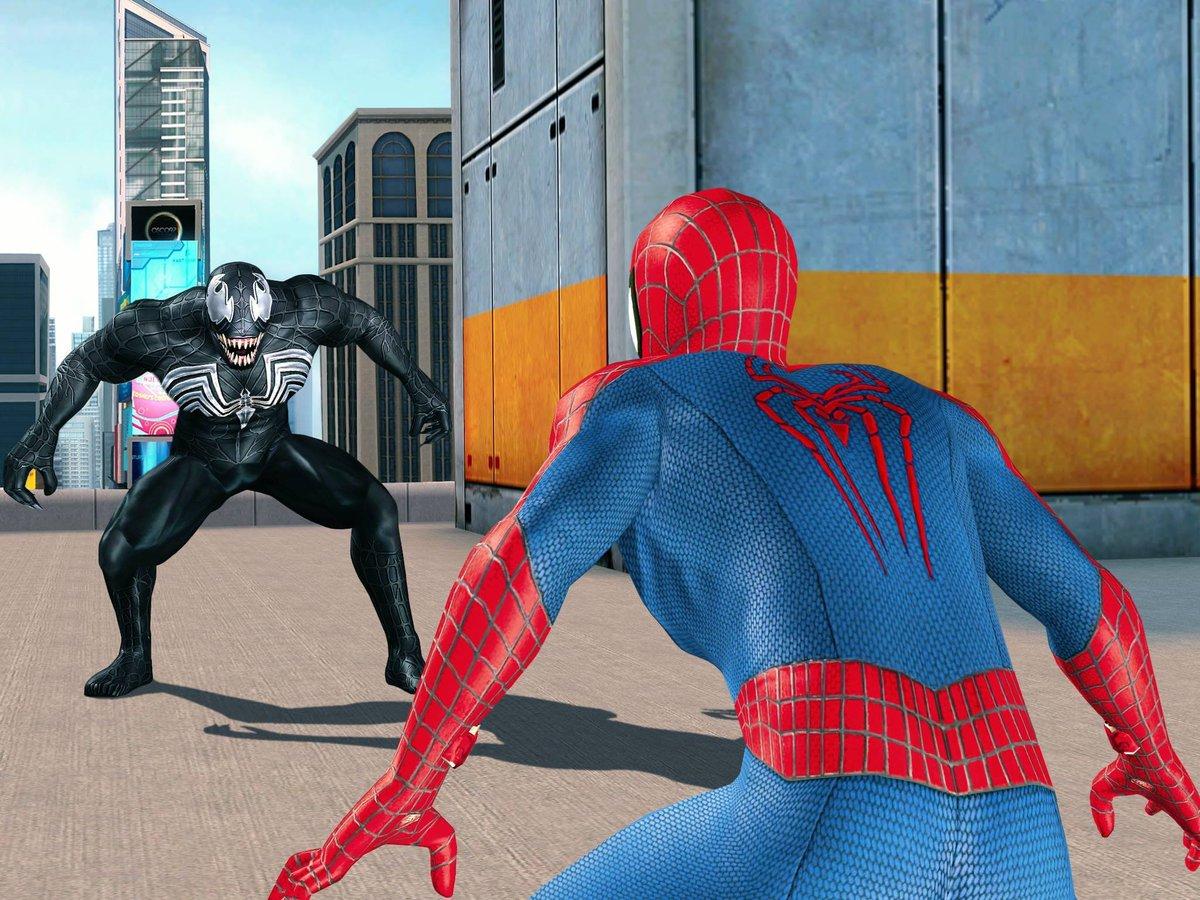 Новый человек паук картинки играть
