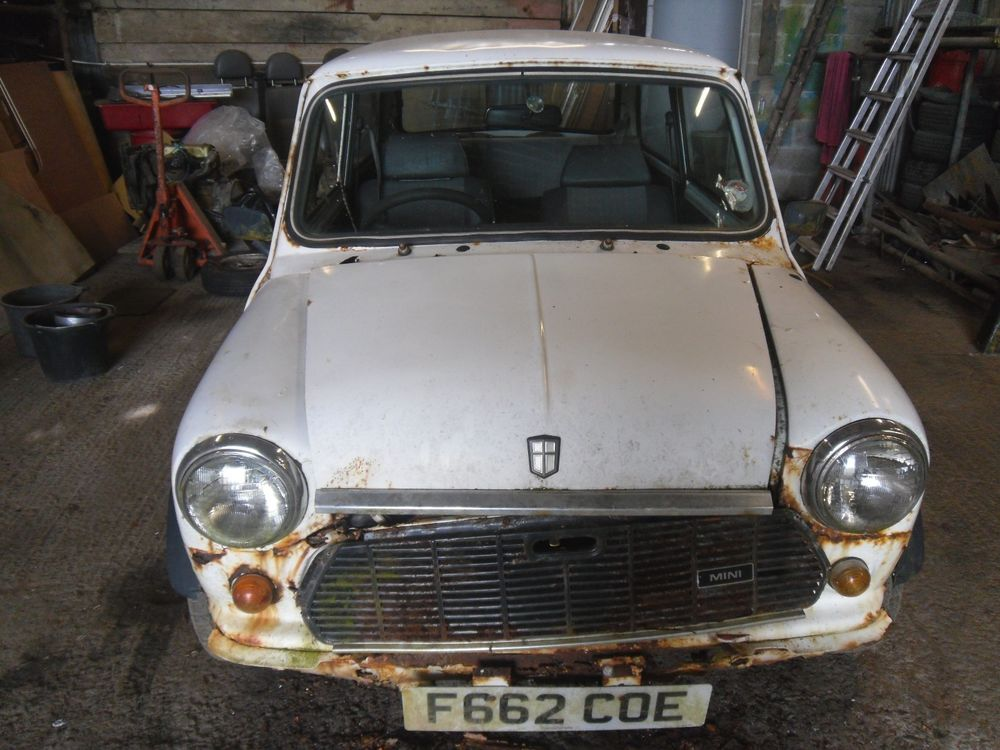 Uk Classic Cars On Twitter Ebay Classic Mini Project Spars Or Repair No Reserve Auction Https T Co Xbm3e99bsx
