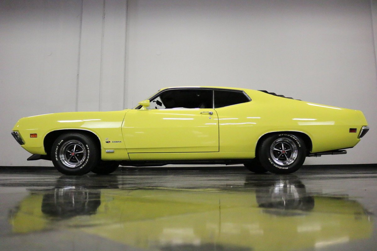 Torinogt Hashtag On Twitter 1970 Ford Grand Torino This Cobra Features Its Original Matching Numbers 429 Cubic Inch Jet V8 Musclecar Hotrod Oldcar Classiccar Collectorcar