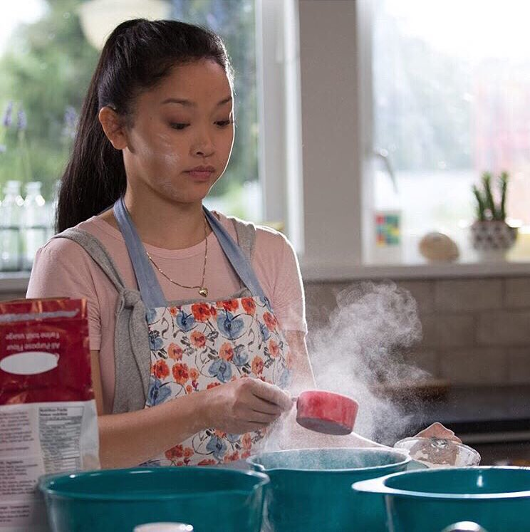 Image result for lara jean baking
