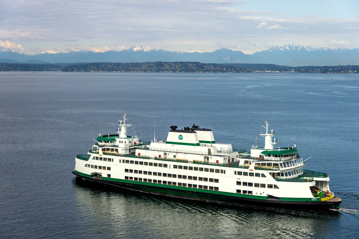 """washington state ferries on twitter: """"repairs to #samish complete"""