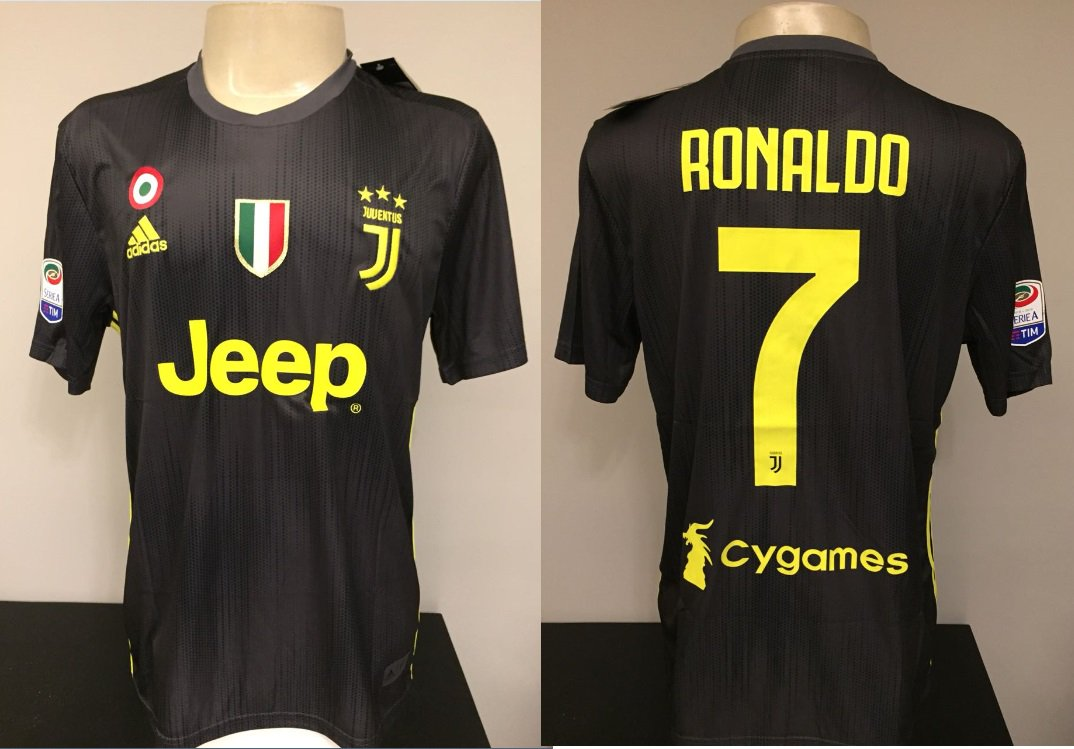 15++ Juventus Camisa Preta