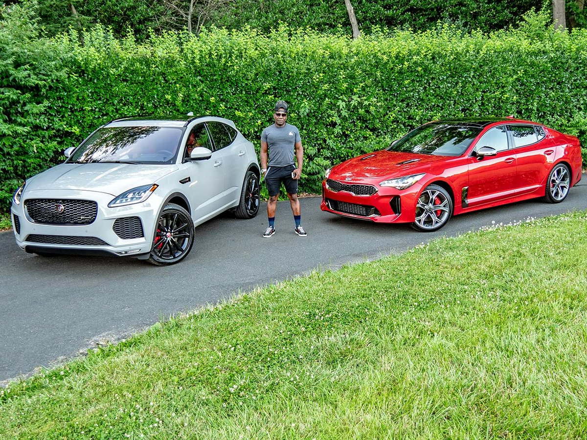 Time to refresh that two car garage #JaguarEPace #KiaStinger #Jaguar #EPace #Kia #Stinger #FallMustHaves #FW18 #StyleAutos @JaguarUSA @Jaguar @Kia @Kia_Motors http://unnamedproject.com/featured/jaguar-e-pace-and-kia-stinger/ …